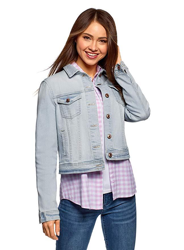 chaqueta baquera mujer