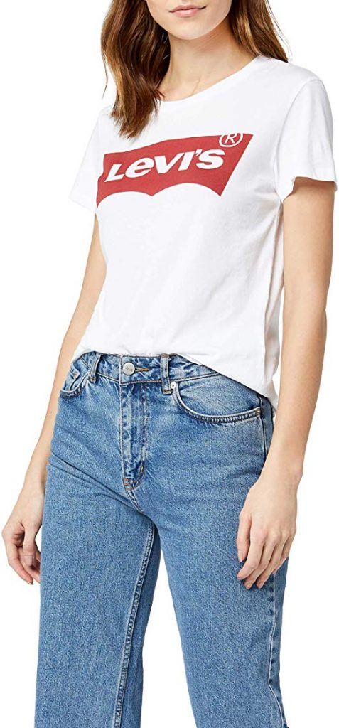 camiseta levis mujer