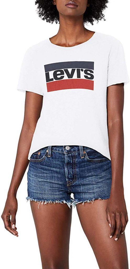 camiseta levis mujer amazon